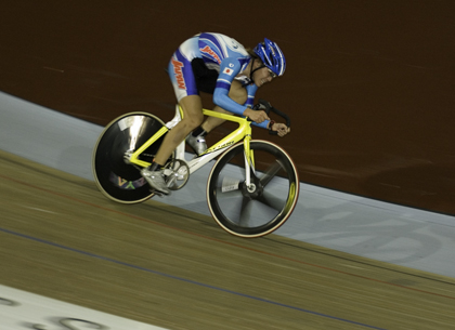 Kazuhiro Mori of Japan at the 2006 UCI Sydney World Cup